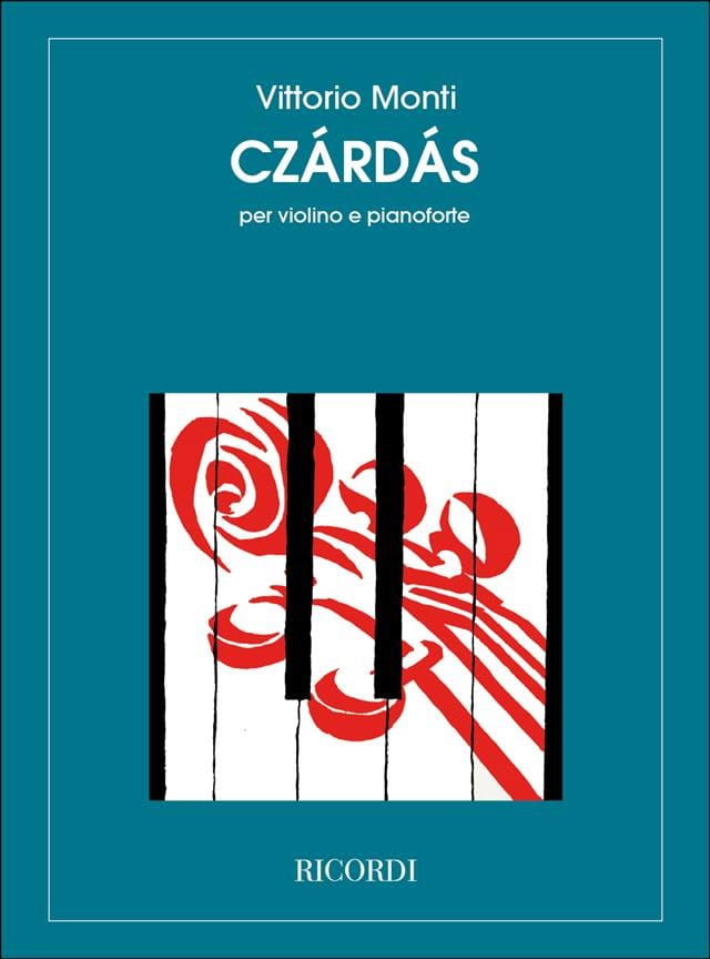 Czardas - Vittorio Monti - Partition - Violon - laflutedepan.com