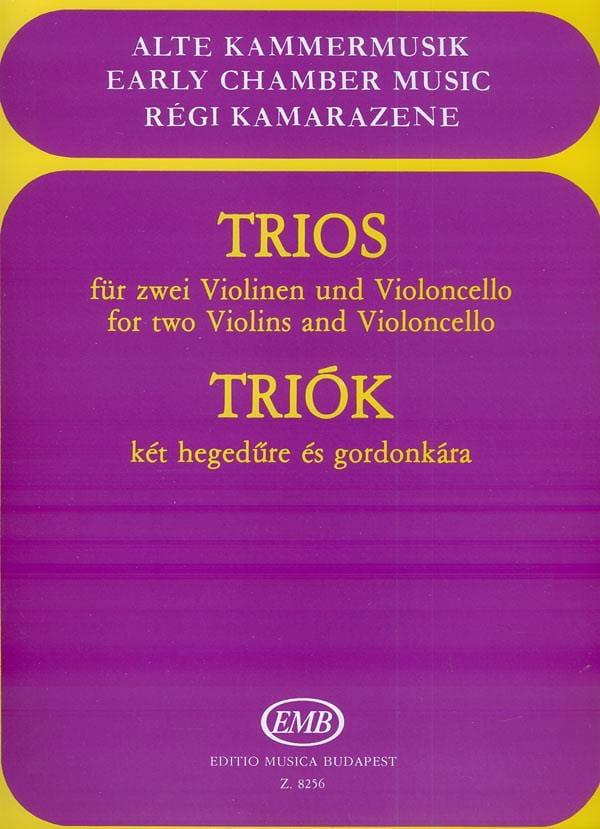 Trios für Violinen und Violoncello - laflutedepan.com