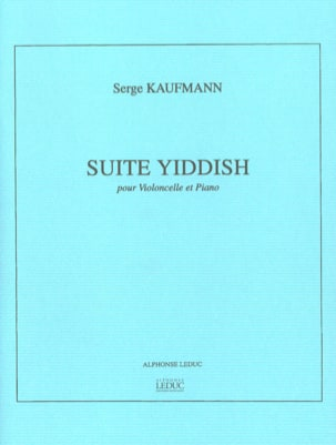 Suite Yiddish - Violoncelle piano Serge Kaufmann laflutedepan