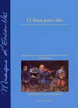 12 Duos pour alto Leopold Mozart Partition Alto - laflutedepan
