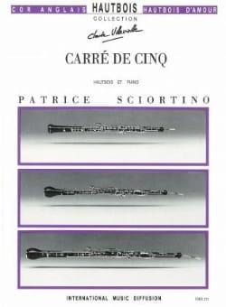 Carré de cinq - Patrice Sciortino - Partition - laflutedepan.com