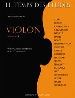 Le Temps des Etudes Volume 1 - Violon Partition Violon - laflutedepan