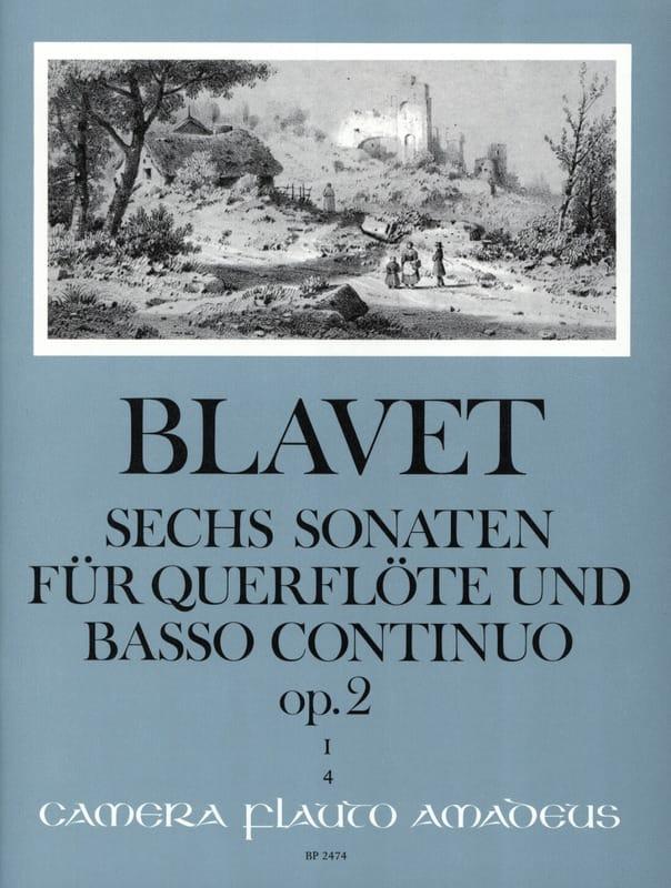 6 Sonaten op. 2 Bd. 1 - Flöte und Bc - laflutedepan.com