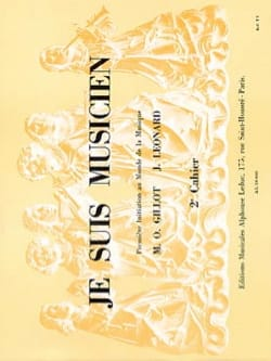 Je Suis Musicien Volume 2 - Gillot / Leonard - laflutedepan.com