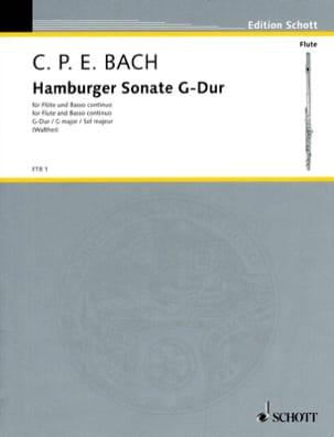 Hamburger Sonate - Carl Philipp Emanuel Bach - laflutedepan.com