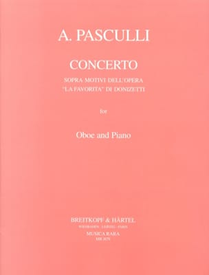 Concerto sopra motivi dell'opera La Favorita di Donizetti laflutedepan