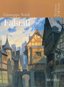 Falstaff nouvelle éd. - Partitur VERDI Partition laflutedepan