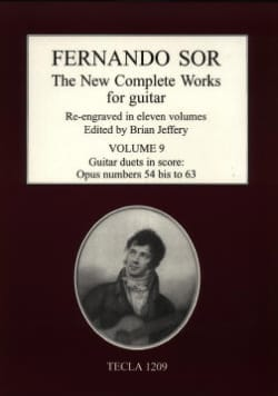 The New Complete Works, Vol. 9 SOR Partition Guitare - laflutedepan