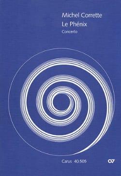 Concerto le Phénix - Set des Parties CORRETTE Partition laflutedepan