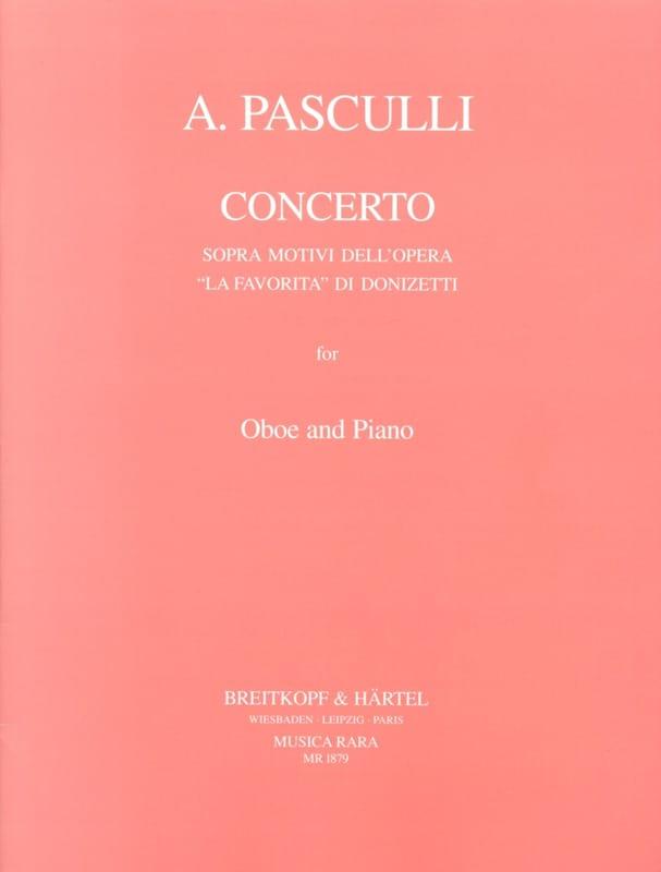 Concerto sopra motivi dell'opera La Favorita di Donizetti - laflutedepan.com