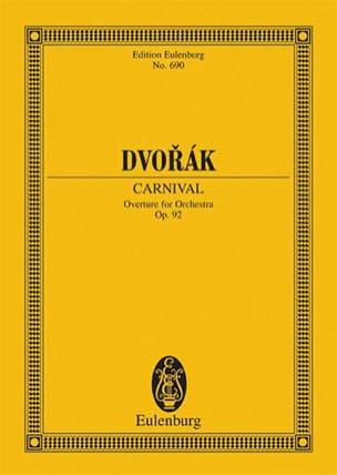 Karneval-Ouvertüre DVORAK Partition Petit format - laflutedepan