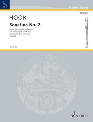 Sonatine Nr. 2 C-Dur - Altbloflöte u. Klavier James Hook laflutedepan