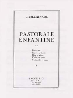 Pastorale Enfantine Op. 12 Cécile Chaminade Partition laflutedepan