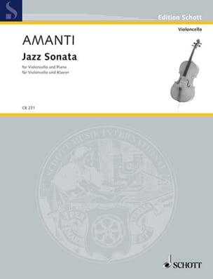 Jazz Sonata Lucio Franco Amanti Partition Violoncelle - laflutedepan