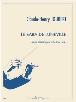 le Baba de Lunéville Claude-Henry Joubert Partition laflutedepan