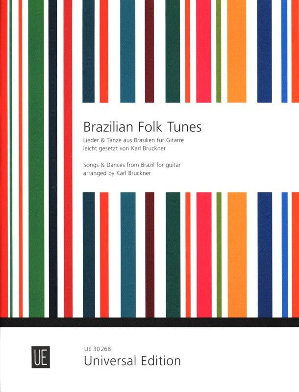 Brazilian Folk Tunes - Karl Bruckner - Partition - laflutedepan.com