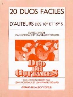20 Duos faciles d'auteurs des 18e et 19e s. laflutedepan