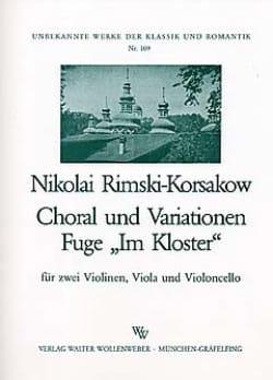Choral und Variationen / Fuge Im Kloster -Stimmen - laflutedepan.com