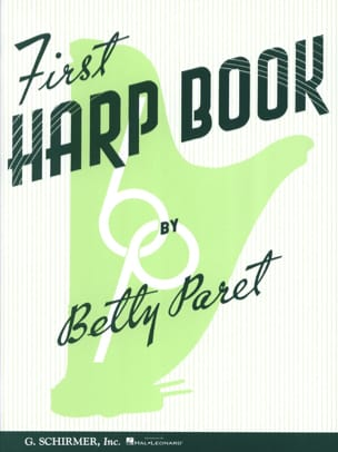 First Harp Book Betty Paret Partition Harpe - laflutedepan