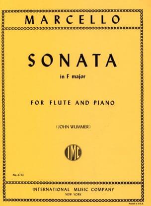 Benedetto Marcello - Sonata in F major - Flute piano - Partition - di-arezzo.com