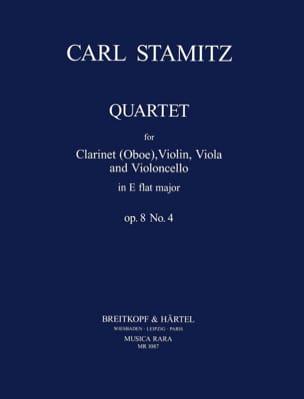 Quartet E flat maj. op. 8 n° 4 -Clarinet violin viola cello laflutedepan