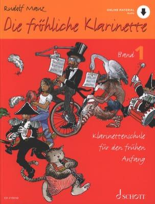 Die Fröhliche Klarinette - Vol. 1 Rudolf Mauz Partition laflutedepan