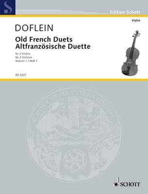 Altfranzösische Duette, Bd 1 Erich Doflein Partition laflutedepan