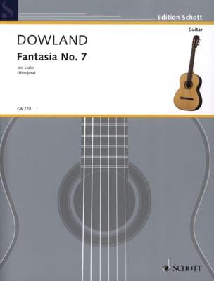 Fantasia Nr. 7 -Gitarre DOWLAND Partition Guitare - laflutedepan