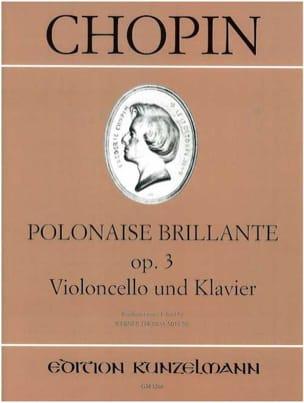 Polonaise brillante op. 3 - CHOPIN - Partition - laflutedepan.com