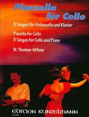 Piazzolla für Cello Astor Piazzolla Partition laflutedepan