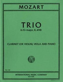 Trio in Eb major KV 498 - Clarinet violin viola piano laflutedepan