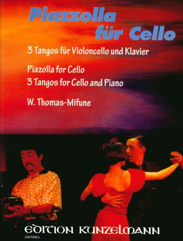 Piazzolla für Cello - Astor Piazzolla - Partition - laflutedepan.com