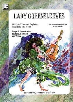 Lady Greensleeves Karl Bruckner Partition Guitare - laflutedepan