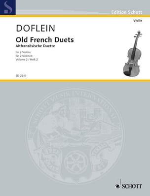Altfranzösische Duette, Bd 2 Erich Doflein Partition laflutedepan