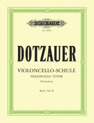 Méthode de violoncelle - Volume 2 Friedrich Dotzauer laflutedepan