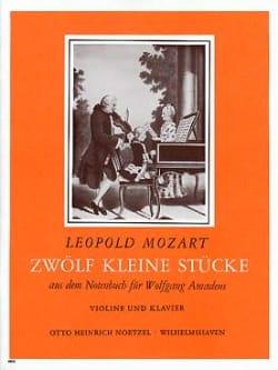 12 kleine Stücke aus dem Notenbuch Leopold Mozart laflutedepan
