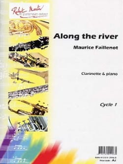 Along the river Maurice Faillenot Partition Clarinette - laflutedepan