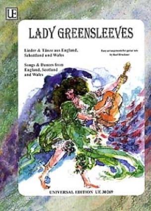 Lady Greensleeves - Karl Bruckner - Partition - laflutedepan.com