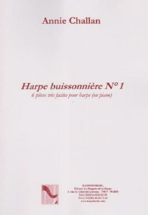 La Harpe Buissonnière N° 1 - Annie Challan - laflutedepan.be