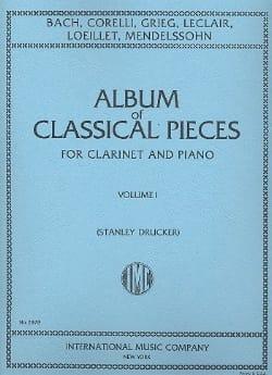 Album of Classical Pieces - Volume 1 Stanley Drucker laflutedepan