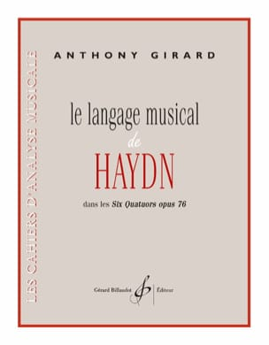 Le Langage Musical de Haydn Anthony Girard Partition laflutedepan