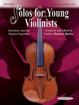 solos for young violonists vol 5 - Barbara Barber - laflutedepan.com