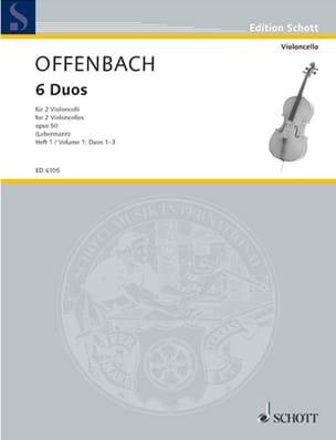 6 Duos Op. 50 Heft 1 1-3 OFFENBACH Partition laflutedepan