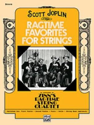 Ragtime Favorites for Strings - JOPLIN - Partition - laflutedepan.com