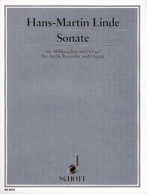 Sonate - Altblockflöte Und Orgel Hans-Martin Linde laflutedepan