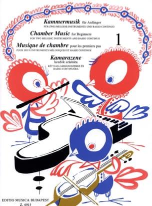 Musique de chambre pour les 1ers pas, Volume 1 laflutedepan