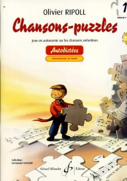 Chansons-Puzzles - Volume 1 Olivier RIPOLL Partition laflutedepan