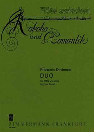 François Devienne - Duo- Flöte Viola - Partition - di-arezzo.com