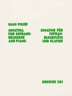 Sonatine für Sopranblockflöte u. Klavier op. 36 n° 1 laflutedepan