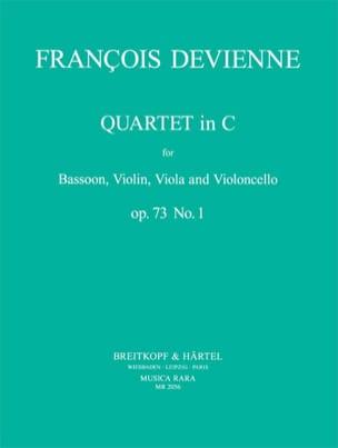 Quartet In C Maj. Op. 73 N° 1 DEVIENNE Partition laflutedepan
